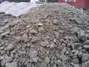 Дробленный бетон в Калининграде